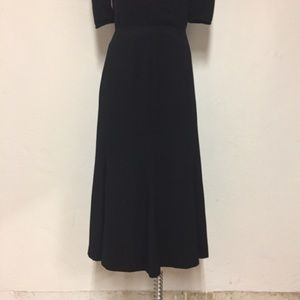 Nygärd Collection Black Flare Skirt